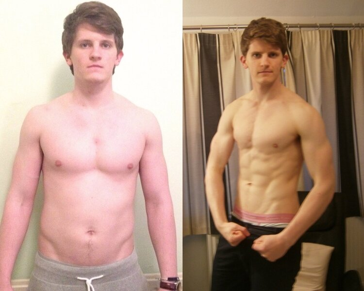 """95kg to 83kg, """"clean"""" bulk and """"clean cut"""", training body parts once a week, hours of slow state cardio, following a restrictive keto or low carb diet plan and then binging on a cheat day."""